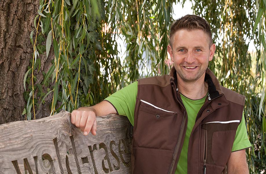 Forstwirt & Head-Greenkeeper Andreas Ketzer